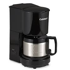 Cuisinartreg 4 Cup Coffee Maker With Stainless Steel Carafe In Black