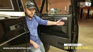 1981-87 Chevy & GMC Truck Door Panels, Custom Deluxe! - YouTube 1963 Chevrolet Ck C10 Pro Street Truck Door Panel Photos Gtcarlotcom News Interior Panels Architecture Modern Idea Custom Dodge Ram Speakers Dash Cover For 1998 Pickup Ricks Upholstery Cctp130504o1956chevrolettruckcustomdoorpanels Hot Rod Network Perfection These Door Panels Came Out Great Tre5customs Square 1955 Ford F100 Custom Yahoo Search Results Upholstery And Auto Restoration New Pics Ford Enthusiasts Forums Cheap Easy Custom Door Panel Build Building The Speaker Pod