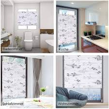 pleated blind roller blind fix without drilling gray 95 x 130 cm
