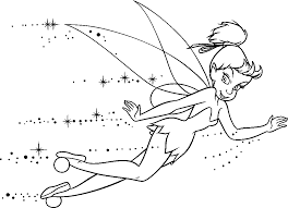 Printable Coloring Pages Of Tinkerbell