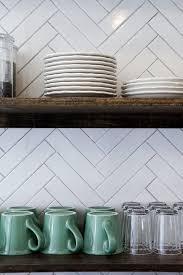 design trends 7 ways to use herringbone in your kitchen