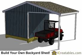 10x14 Garden Shed Plans by 10x14 Backyard Shed Plans Large Porch Carport