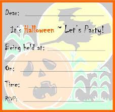 Free Halloween Invitation Templates Microsoft by Halloween Party Invitation Templates Oxsvitation Com