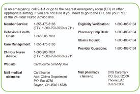 Cvs Caremark Pharmacy Help Desk by Patient Care Caresource