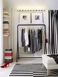 create a closet anywhere you have extra space with a stand alone