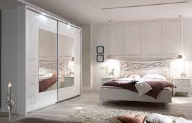 schlafzimmer komplettset weiss siebdruck selvio1