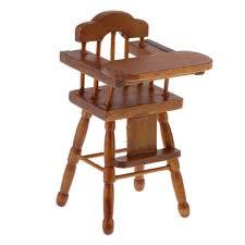 spielzeug 1 12 puppenhausmöbel hochstuhl klappstuhl