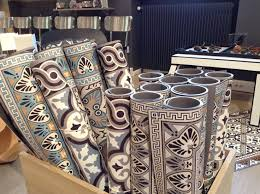 tapis pour la cuisine idée relooking cuisine carreau ciment vinyl recherche