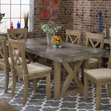 Boulder Ridge Concrete Rectangle Dining Table In Natural