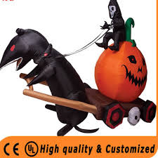 Gemmy Inflatable Halloween Train by Halloween Inflatable Carriage Halloween Inflatable Carriage