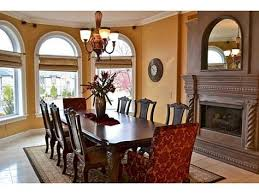 Cozy And Elegant Dining Room With Fireplace We Design The Unimaginable Follow Us On Houzz Facebook
