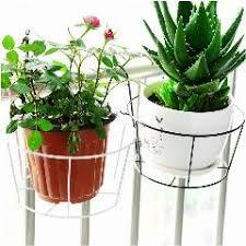 Garden Supplies Small White Ceramic Flower Pots Planters Office Home Desktop Decorative Green Plant Roundness Pot
