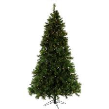 Fraser Christmas Tree Care by Fraser Hill Farm 7 5 Ft Pre Lit Canyon Pine Artificial Christmas