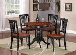 kitchen table oval walmart small 4 seats espresso glam flooring