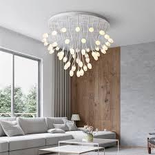 postmodernen oliveball manyheads led decke le wohnzimmer decke lichter neuheit beleuchtung schlafzimmer leuchten hause beleuchtung