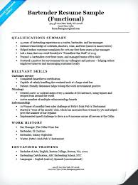 Resume Functional Summary Define Resumes