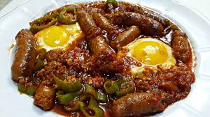 de cuisine tunisienne ojja aux merguez et aux œufs cuisine tunisienne