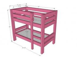 american triple bunk bed plans kreg jig loft bed plans