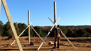 Setting Posts For The Pole Barn... Part 1 - YouTube Best 25 Pole Barn Garage Ideas On Pinterest Barns New Pole Shop Progress The Shop Wood Talk Online Build A Barnalmost Farmer Feddie Redneck Diy Here Is Another Way To Square Andlay Out A Pole Barn Diy Kit Youtube Planning Nc4x4 Love It Includes The How To Build Pt 1 Site Prep Layout Setting Posts Adding Extension Existing Metal Building Polebarn Cstruction Kids Caprines Quilts