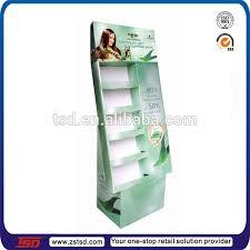 TSD M503 Custom Retail Store High Quality Floor Hair Gel Display Standdeodorants
