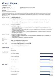 Caregiver Resume: Sample And Complete Guide [+20 Examples]