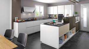 modele de cuisine en l cuisine amenagee en u ophreycom moderne prlvement et une