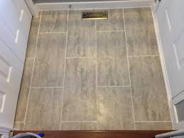 groutable vinyl tile uk diy herringbone vinyl tile pattern via grace gumption kitchen
