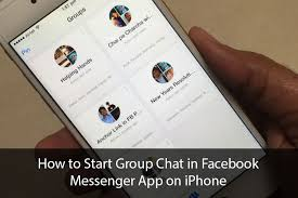 How to Start Group Chat in Messenger App on iPhone
