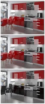 neu komplette küche infiniti ii 180 cm hochglanz verschiedene farbkombinationen
