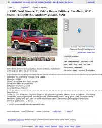 Could This Pristine 1985 Ford Bronco II Be Worth $13,700? Record Store On Wheels Craigslist Cars And Trucks Mn Best Image Truck Kusaboshicom 1933 Chev 1 Ton 29000 New Tires Everything Works I Found This Conner Setzers Garage Whewell Projects Cost Of A Model A Ford The Hamb Crapshoot Hooniverse For 2200 May Farce Be With You 1965 Vw Beetle Woodie For Sale Ive Known And Loved Vehicle Scams Google Wallet Ebay Motors Amazon Payments Ebillme Bike Guy Column Lessons From Scuttling Minneapolis Bike Theft