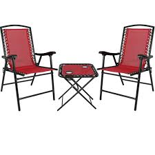 Sunnydaze Outdoor Suspension Folding Patio Chairs With Side Table ... Amazoncom Tangkula 4 Pcs Folding Patio Chair Set Outdoor Pool Chairs Target Fniture Inspirational Lawn Portable Lounge Yard Beach Plans Woodarchivist Foldable Bench Chairoutdoor End 542021 1200 Am Scoggins Reviews Allmodern Hampton Bay Midnight Adirondack 2pack21 Innovative Sling Of 2 Bistro 12 Best To Buy 2019 Padded With Arms Floors Doors Fold Up