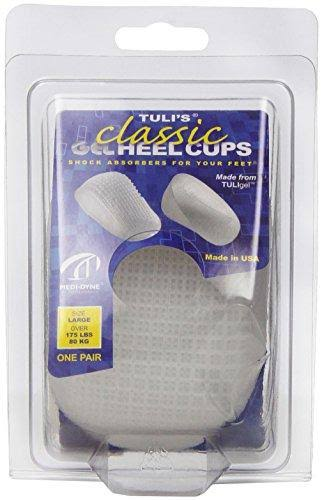 Pedifix Tulis Gel Heel Cups - Large, 1 Pair
