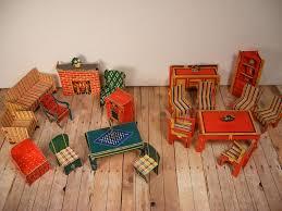 Cardboard Built Rite Dollhouse Furniture Assortment Warren Paper