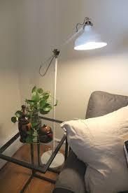 Hektar Floor Lamp Dark Gray by Ranarp Floor Reading Lamp Off White Floor Lamp Lights And