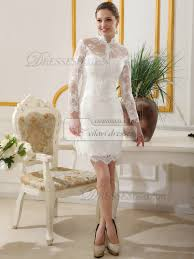 sleeve short lace wedding dress