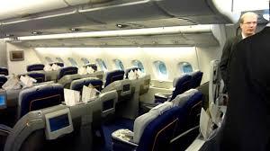Lufthansa A380 Business Class cabin tour LHA380 Avgeek [HD