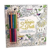 Colorama Magic Path Coloring Book Create Beautiful Pencil Art