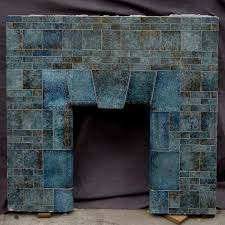 Batchelder Tile Fireplace Surround by Gorgeous Deco Fireplace Fire It Up Pinterest Fire Surround