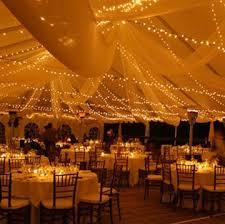 Outdoor Tent Wedding Receptions