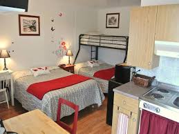 chambre d hotel avec cuisine motel sans frontières hôtels pohénégamook hébergement