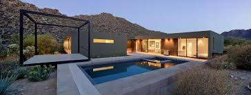 Desert House With Awesome Viewing #2233 | Latest Decoration Ideas The Glitz And Glamour Of Vegas Is Alive In The Tresarca House Marmol Radziner Desert Home Design Concrete Glass Steel Structure Hovers Above Arizona Desert This Modern Oasis By Hazelbaker Rush Perched On A Modern Kit Homes For Small Adobe Plans Types Landscaping Ideas Hgtv Wing Kendle Archdaily Minecraft Project Pinterest Sale Renowned Architect