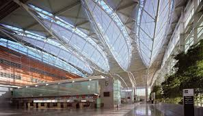 100 Bowstring Roof Truss SOM San Francisco International Airport Structural