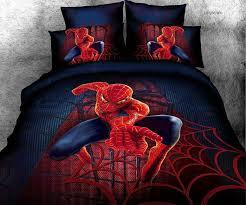 Batman Bed Set Queen by Spiderman Comforter Set Queen 8981