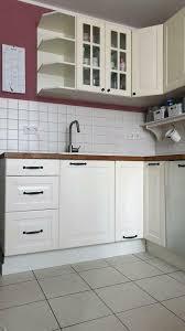 schöne einbauküche lidingö elfenbeinweiß ikea faktum wie bodbyn