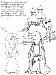 Esther3 Bible Coloring Pages