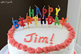 Happy Birthday Jim oysters and pearls