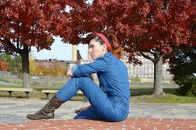 Rosie The Riveter Halloween Diy by Halloween Bell Blueprint Nafisa S World My Halloween Costume
