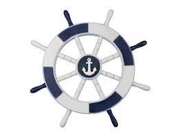 18 white decorative ship wheel with anchor wall décor reviews