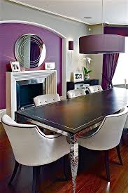 Pendant Lamp In Purple Is Perfect For The Dramatic Dining Room Design FiSHER ID