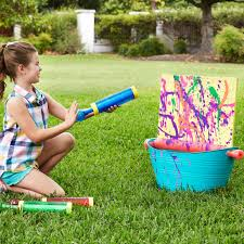 Step2 Art Easel Desk by Outdoor Summer Fun Splatter Paint Easel